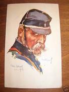 Cartolina Militaria Copricapo Dupuis Villers 1914 - Regiments