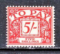 GREAT  BRITAIN  J 54   **    Wmk.  308  G.S. 165 - Postage Due