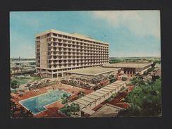 KINSHASA 1970s Advert Postcard Hotel Hotels AFRICA Democratic Republic The CONGO - Postcards