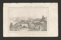 RARE NEW ZEALAND PAH DE KAOUVERA KAUVERA ANTIQUE PRINT XIX CENTURY  Z1 DANVIN - Unclassified
