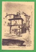ART POSTCARD PORTUGAL LISBOA LISBON ALFAMA 1940 YEARS ! - Postcards