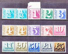 GREAT  BRITAIN  J 79-91   ** - Postage Due