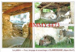 CPM - Le Plâtre Four, Broyage Et Ensachage - La Gypière - CLAMENSANE 04 Alpes De Haute Provence - Edit. Philippe Bertone - Craft
