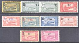 FRENCH  GUADELOUPE  86-95   * - Unused Stamps