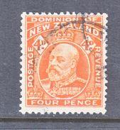 NEW  ZEALAND  134   (o) - 1907-1947 Dominion
