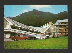 ROMANIA 1970years POIANA BRASOV Classic Cars Car Automobiles Postcard 1970s Z1 - Postcards