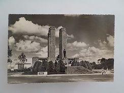 AFRICA LEOPOLDVILLE KINSHASA MONUMENT AU ROI ALBERT 1er 1950 YEARS POSTCARD Z1 - Postcards