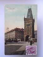 TCV STAMP YEAR 1911 CZECH REPUBLIC PRAHA PRAGUE PRAGA & TRAMWAY POSTCARD Z1 - Postcards