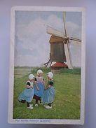 ART POSTCARD BELGIUM BELGIE BELGIQUE ZEELAND MOLENTJE WINDMILL MOULIN  1910s Z1 - Postcards