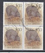 NEW  ZEALAND  930  X 4    (o)   SPOTTED  KIWI - New Zealand