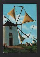 1960years PORTUGAL WINDMILL WINDMILLS MOULINS MOLINO MOLINOS WIND MILLS Z1 - Postcards