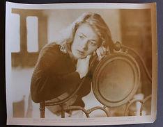Fotografia D'epoca Cinema Attrice Ingrid Bergman Sul Set Di Stromboli 1950 - Photos