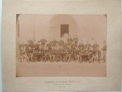 Foto Epoca 9° Reggimento Cavalleria Sottufficiali 1890 - Fotografia