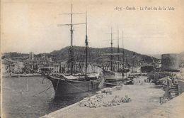 13)  CASSIS - Le Port Vu De La Jetée - Cassis