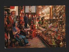 TURKEY TURQUIE ISTANBUL 1970ys ALI ABBA BAZAR ETHNIC STORE SHOP&  GIRLS WOMAN Z1 - Postcards
