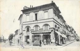 Libourne - Le Cours Des Girondins Et La Rue Thiers - Epicerie, Mercerie, Tabac - Carte N° 20 - Libourne