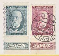 CZECHOSLOVAKIA  178 A-B   (o) - Czechoslovakia
