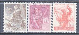 CZECHOSLOVAKIA  614-16    (o)   ARMY  DAY  SOLDIERS - Czechoslovakia