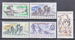 CZECHOSLOVAKIA  796-800   *   CYCLING  RACE  ARCHERY  BOXING  SPORTS - Czechoslovakia