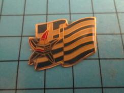 Pin912d  Pin's Pins / Rare Et De Belle Qualité JEUX OLYMPIQUES / ALBERTVILLE 1992 DRAPEAU GRECE MASCOTTE CUCU - Olympic Games