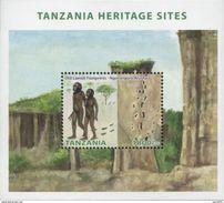 Tanzania 2014 Old Laetoli Footprints - Ngorongoro Prehistory MS Mint - Prehistory