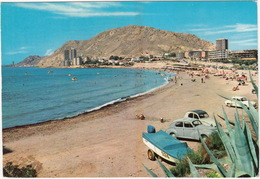 Alicante: PEUGEOT 203, CITROËN 2CV, RENAULT DAUPHINE, BOAT & TRAILER - La Albufereta - (Espana/Spain) - PKW