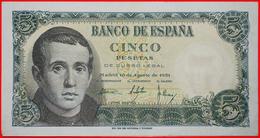 √ BALMES (1810-1848): SPAIN ★ 5 PESETAS 1951 CRISP! LOW START ★  NO RESERVE! Franco Regime (1936-1975) - 5 Pesetas