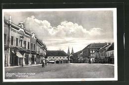 AK Vrsac, Blick Zum Hauptplatz - Serbien