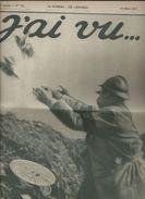 Journal - J' Ai Vu N:121 De Mars 1917 - Weltkrieg 1914-18