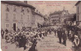 Bourg Concours Interrégional De La Fédération Des Patronages De France Du Sud Est  Le Défilé Place Joubert - Autres