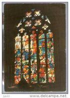Jolie CP 22 La Roche Derrien Vitrail Eglise - Bataille Du 18-06-1347 Charles De Blois Robert Du Chatel - Ed Even N° 1 - France