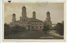 MOSQUE OF JOHORE ABU BAKAR STATE MOSQUE 1925 VIAGGIATA MANCA F.BOLLO - Malaysia