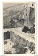 FOTO CASE CON LA NEVE RETRO RIPORTATE ANNOTAZIONI FOTOGRAFO FEBBRAIO 1944 FP - Fotografia
