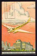 CPA AVIATION -  Carte De Nouvel An AIR FRANCE 1934 - Argentine Vers Bulgarie - Aviateurs