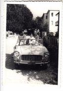 AUTO CAR VOITURE LANCIA APPIA SPIDER TARGA TORINO - FOTO ORIGINALE - Cars