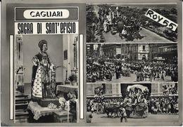 Sardegna-cagliari Citta' Sagra Di Sant'efisio Vedute Animatissime Anni 50 - Cagliari