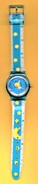 ADVERTISEMENT WATCHES - YELLOW MOON AND STARS / 01 (PORTUGAL) - Montres Publicitaires