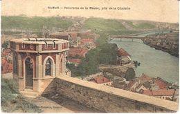 Namur - Panorama De La Meuse, Pris De La Citadelle - Namur