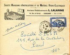 """Maroc,Morocco,Marruecos; 1933 """" Belle Enveloppe  """" - Briefe U. Dokumente"""