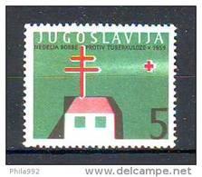 Yugoslavia 1959 Y  Voluntary Charity Stamps Tuberculosis MNH - Bienfaisance