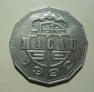Macau 5 Patacas 1992 - Macau
