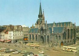 Roubaix Grand Place église St Martin Mongy 500 Tram Tramway Streetcar Lille Roubaix Tourcoing Bus - Roubaix