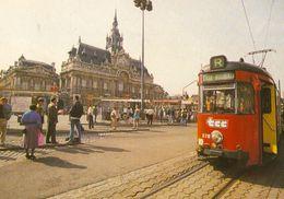 Roubaix Grand Place Hôtel De Ville Mairie Mongy 300 377 Tram Tramway Streetcar Lille Roubaix Tourcoing - Roubaix