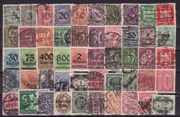 257 - Lot Allemagne - Empire Obliteres - Timbres