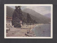 1963. USSR. Postcard. Gagra. Embankment. Sea. Boats. Mountain. Flora. 593. - Other