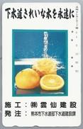 JP.- Japan, Telefoonkaart. Telecarte Japon. SINASAPPEL - Levensmiddelen
