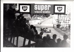 AUTO CAR VOITURE GRAN PREMIO DI MONACO MONTECARLO ANNI 60/70 - FOTO ORIGINALE - Cars