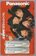 JP.- Japan, Telefoonkaart. Telecarte Japon. - PANASONIC -. JUN SKY WALKER(S) -. - Personen