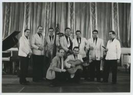 Orchestre De Jazz . Photo Gay-Couttet à Chamonix . Août 1946 . - Professions
