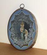 Ancien Cadre Religieux - Pèlerinage Souvenir De Sainte-Anne D' Auray - Autres Collections